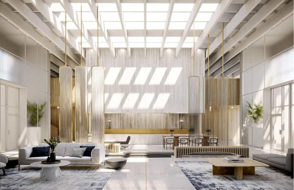 Hotel Inspired Lobby
