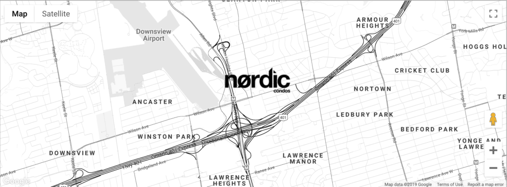 Nordic Map