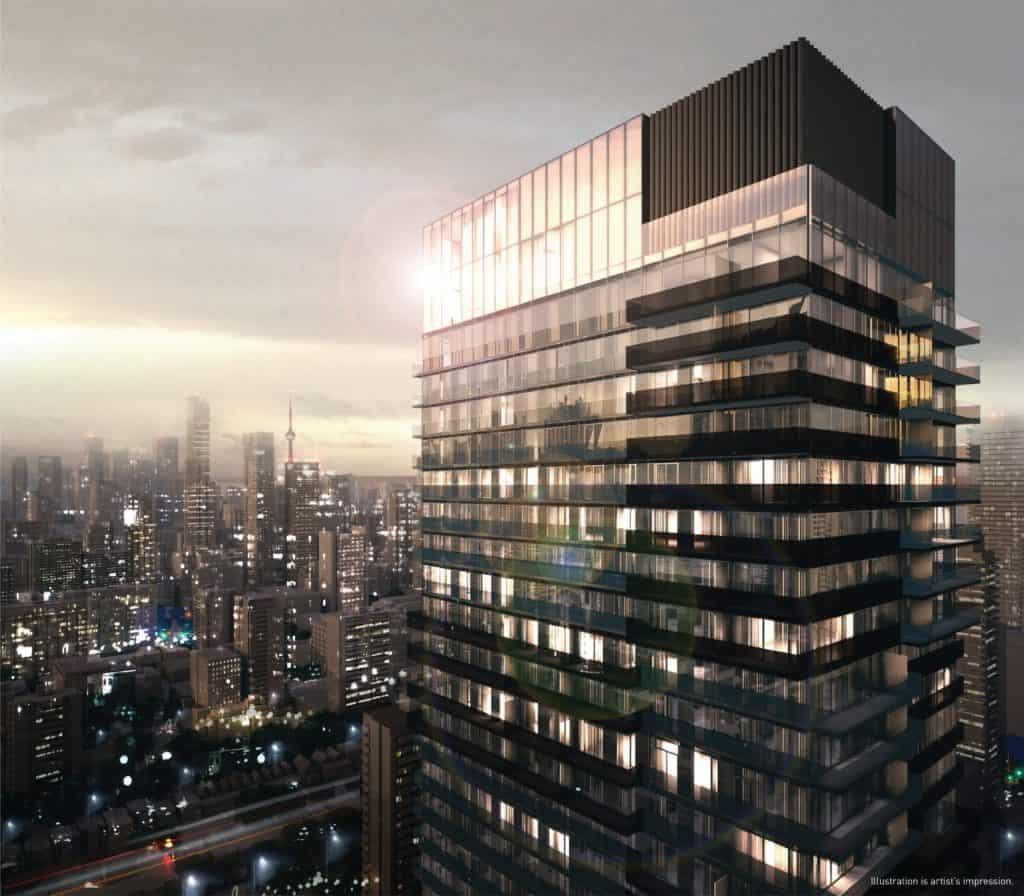 55C tower rendering