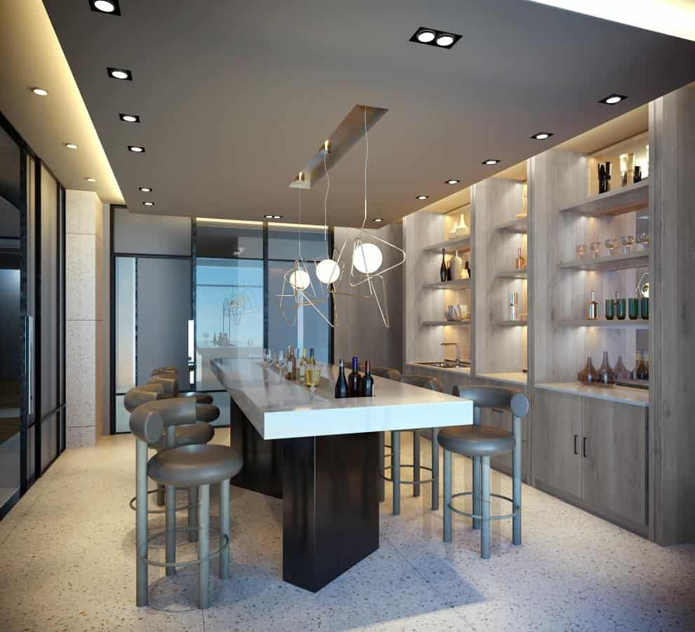 montvert condos private dining and bar