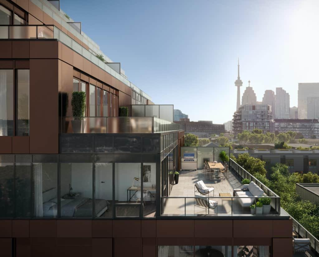 new private suite terrace