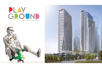 Playground Condos - 1Bed & Den $729,900